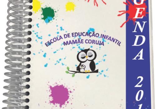 Agenda desenvolvida para escola Mamãe Coruja