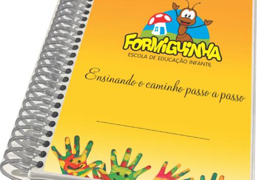 Agenda desenvolvida para Escola Formiguinha